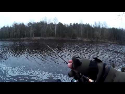 Ловля окуня на каналах Белоозерск.