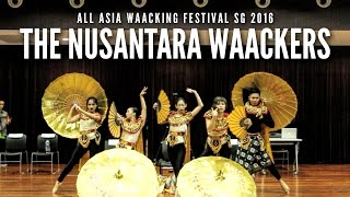 The Nusantara Waackers | Special Performance | All Asia Waacking Festival SG Vol 2 | RPProductions - Stafaband