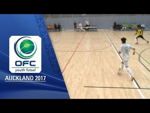 VANUATU v NEW ZEALAND  |  Men's Highlights - OFC YOUTH FUTSAL TOURNAMENT