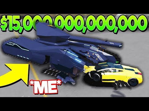 i-spent-$15-trillion-on-the-best-tank-in-car-crushers-2!-(roblox)
