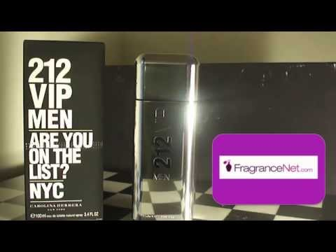 Fragrancenet collab video CH 212 VIP  Review