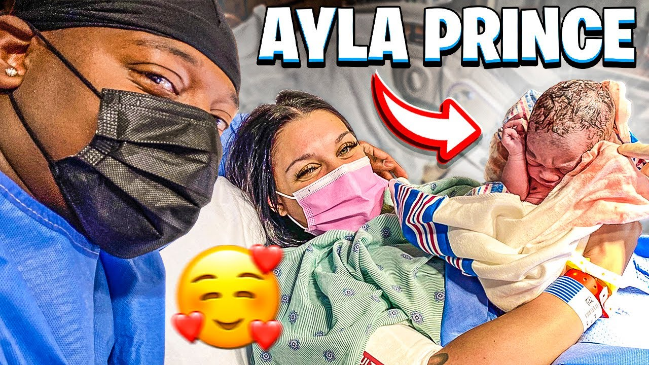 THE BIRTH OF AYLA PRINCE **FACE REVEAL**