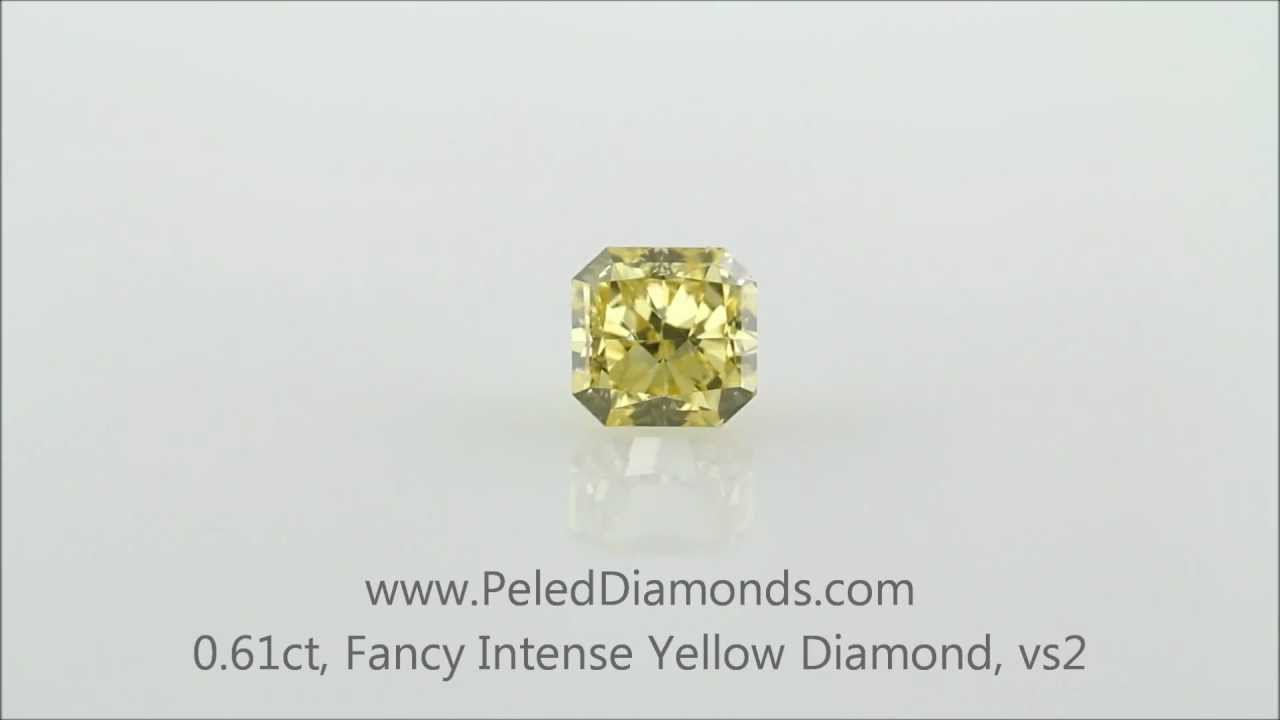 how much is a 3 carat yellow diamond worth