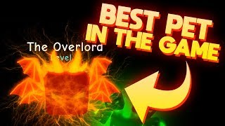 THE RAREST PET EVER?! (THE OVERLORD) | ROBLOX Bubble Gum Simulator