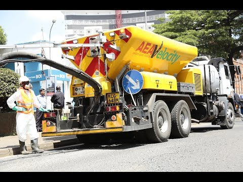 Nairobi County to deploy rapid road patching machines for Sh100M