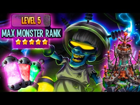 Monster Legends - MONSTER LAB (Nivel 5) | Como Extraer Y Aumentar Rango + Mi Monstruo Nivel 110.