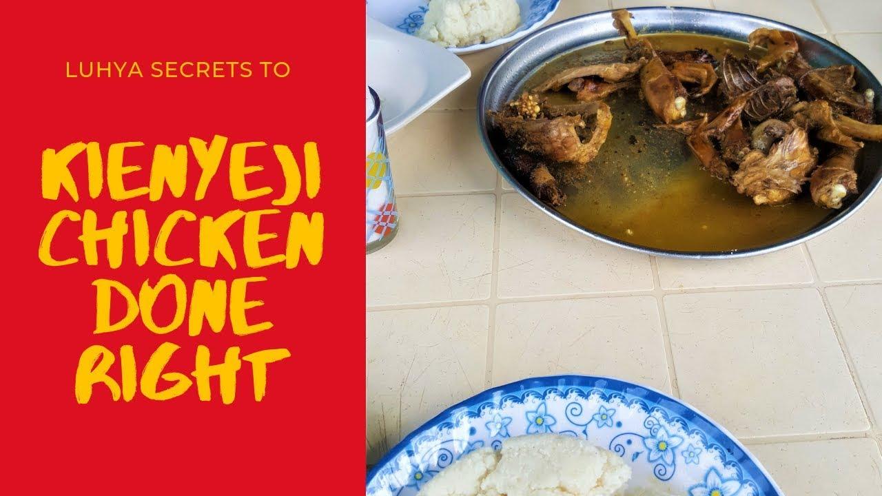 Kienyeji engoho (free range chicken) luhya recipe | Luhya Traditional Food |African Recipes