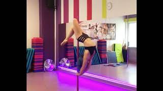 Pole Dance Spin Pole Training