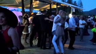 Igor Lukšič med plesom