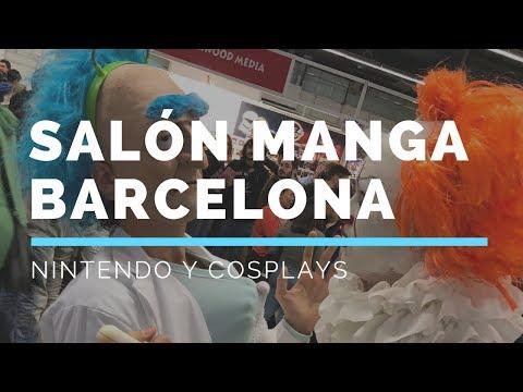 Salón Manga Barcelona - Nintendo y Cosplays