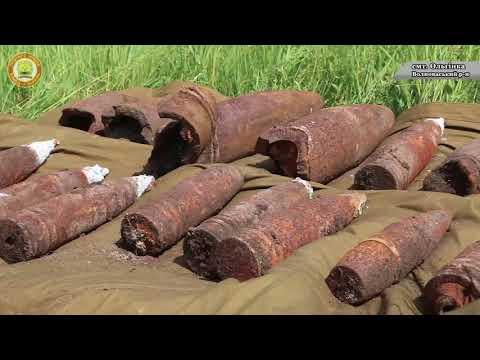 DSNSDonetsk: Піротехніки ДСНС знищили боєприпаси часів ІІ Світової війни шляхом контрольованого вибуху
