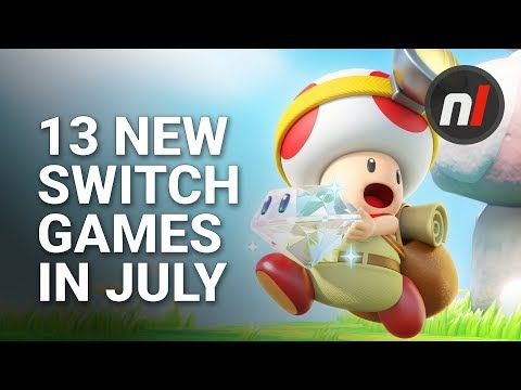 13 Great New Games Coming to Nintendo Switch in July