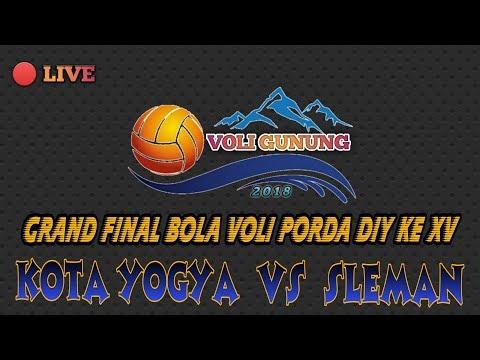 """GRAND FINAL PORDA DIY KE XV  SLEMAN  VS  KOTA YOGYA 'PUTRI"""""""