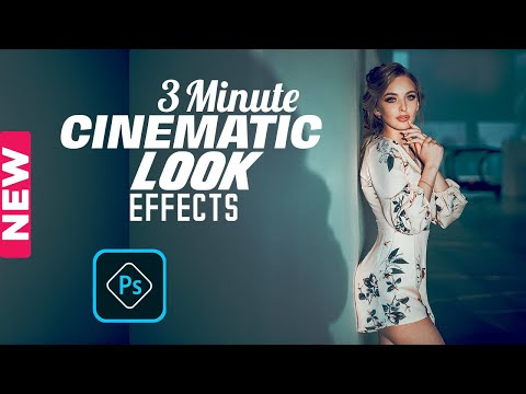 Photoshop Tutorial । How to Create Cinematic Color Grading Effects in Adobe Photoshop CC 2020 thumbnail