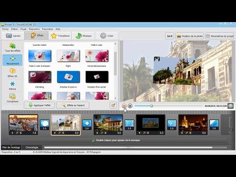 Nouveau logiciel pour montage photo et vidéo en Français