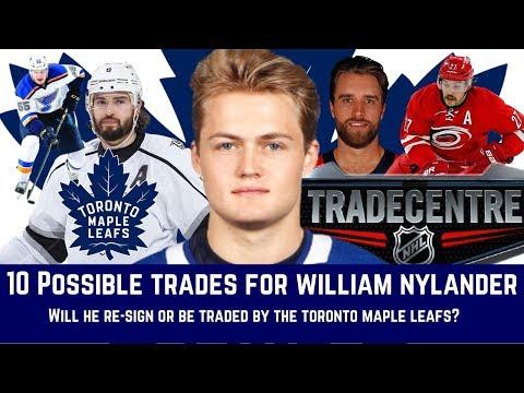 10 POSSIBLE TRADES FOR WILLIAM NYLANDER