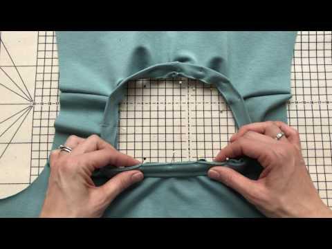 Laurens Top Tips - Inserting Jersey Neckbands