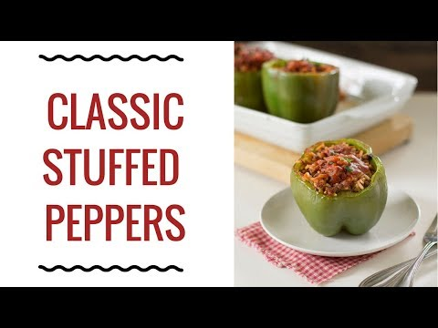 How to Make Classic Stuffed Peppers