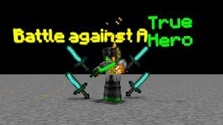 MV Battle Against A True Hero Minecraft Animation