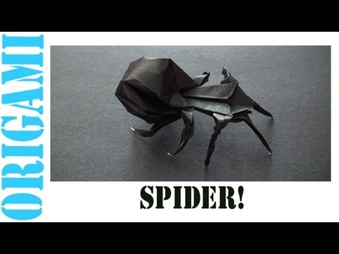 Origami Daily - 428: Spider (3D Modular) - TCGames [HD]