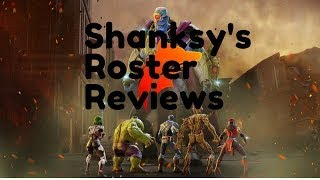 Shanksy's MSF Roster Review - WeakyWolf 636 days Played - TOP FREE TO PLAY PLAYER!