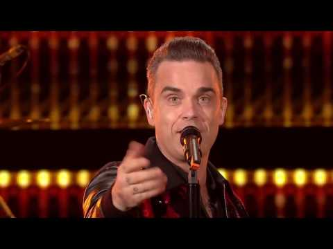Robbie Williams Rock Big Ben Live New Years Eve 2016/2017