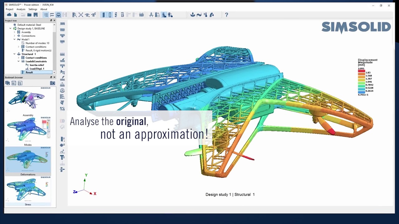 SIMSOLID – structural analysis without meshing - INNEO