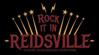 Rock It In Reidsville! Businesses Are Open!
