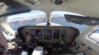 N340EB Cessna 340 Lake Tahoe Approach
