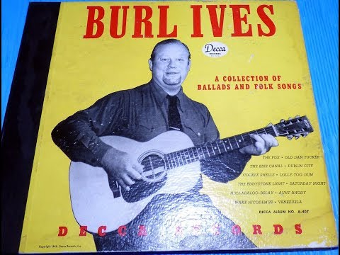 Burl Ives - A Collection Of Folk Songs And Ballads - Complete LP (1946).