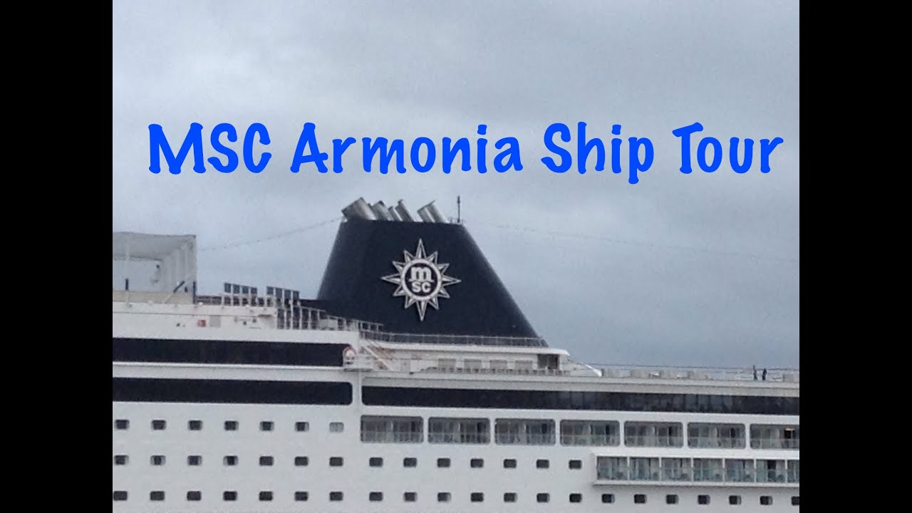 MSC Armonia Ship Tour  YouTube