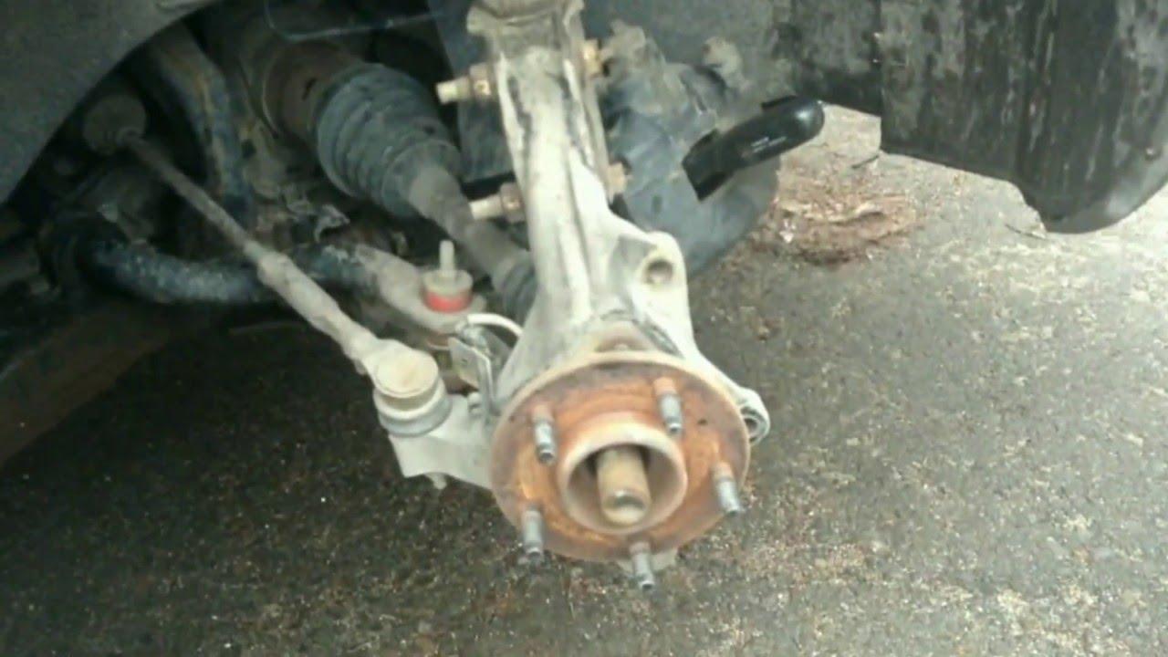 2005 pontiac montana sv6 wheel bearing replace pt 1 [ 1280 x 720 Pixel ]