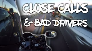 Motorcycle vs Bad Drivers, THIS IS WHY YOU SHOULD LANE SPLIT! - RPSTV