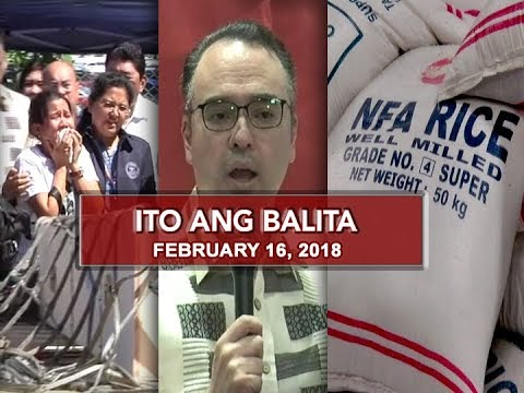 UNTV: Ito Ang Balita (February 16, 2018)