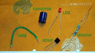 How to make simple 1 transistor led flasher.