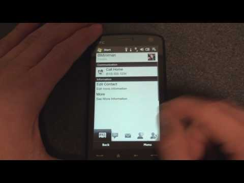 HTC Touch Diamond2 / Pro2 Software Preview