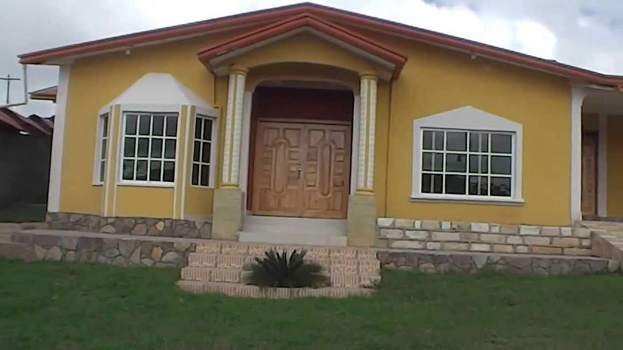 Venta de hermosa casa nueva en villa isabela la esperanza for Fachadas de casas modernas en honduras