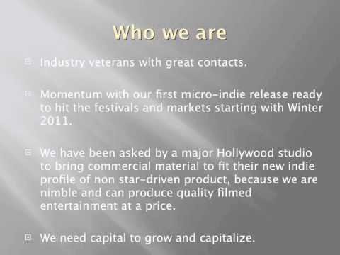 TMG Films: Corporate Presentation