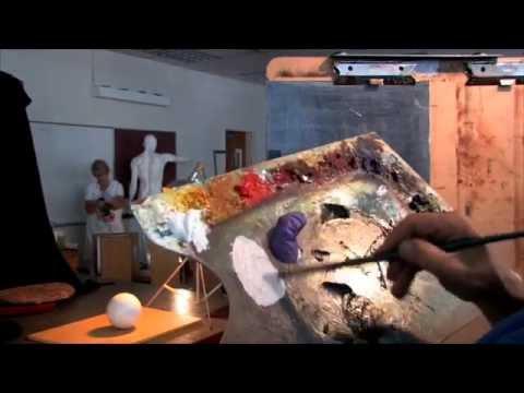 Oil Painting-Visual Temperature