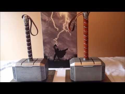 Thor Hammers Mjolnir Lager Toys PVC VS Show Z  Metal