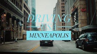 Driving Downtown - Minneapolis, Minnesota, USA