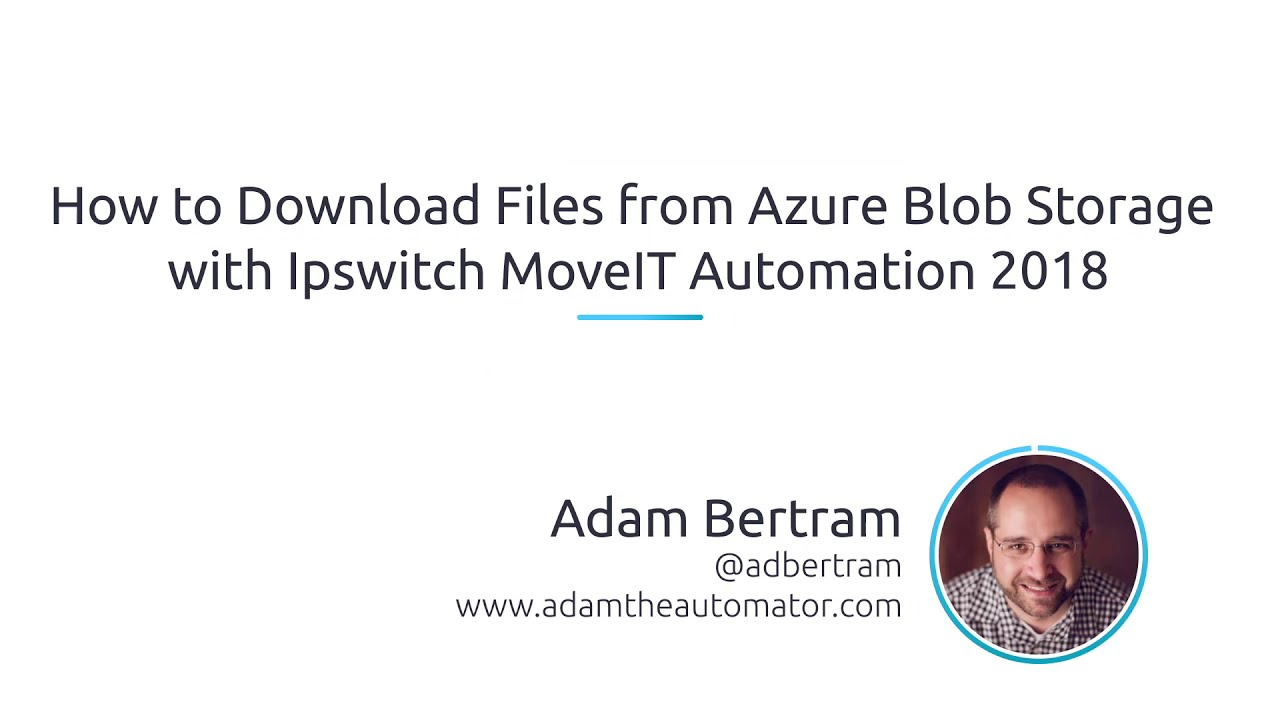 Video: How to Download Files From Azure Blob Storage with