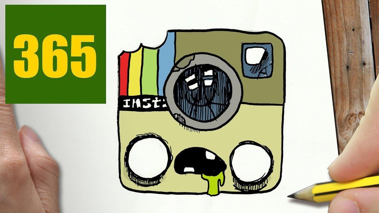 come disegnare zombie instagram kawaii passo dopo passo