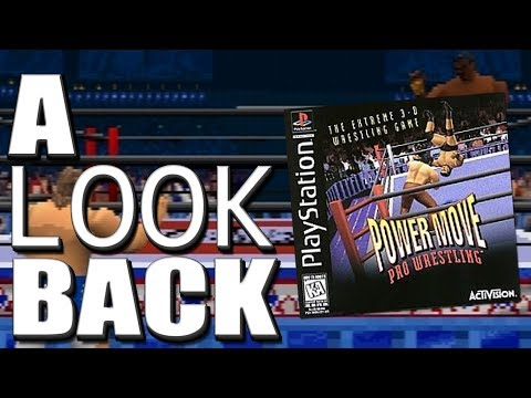 Power Move Pro Wrestling For PlayStation - A LOOK BACK