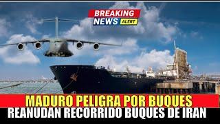 Maduro PELIGRA se reactivan Buques de Guerra IRANIES