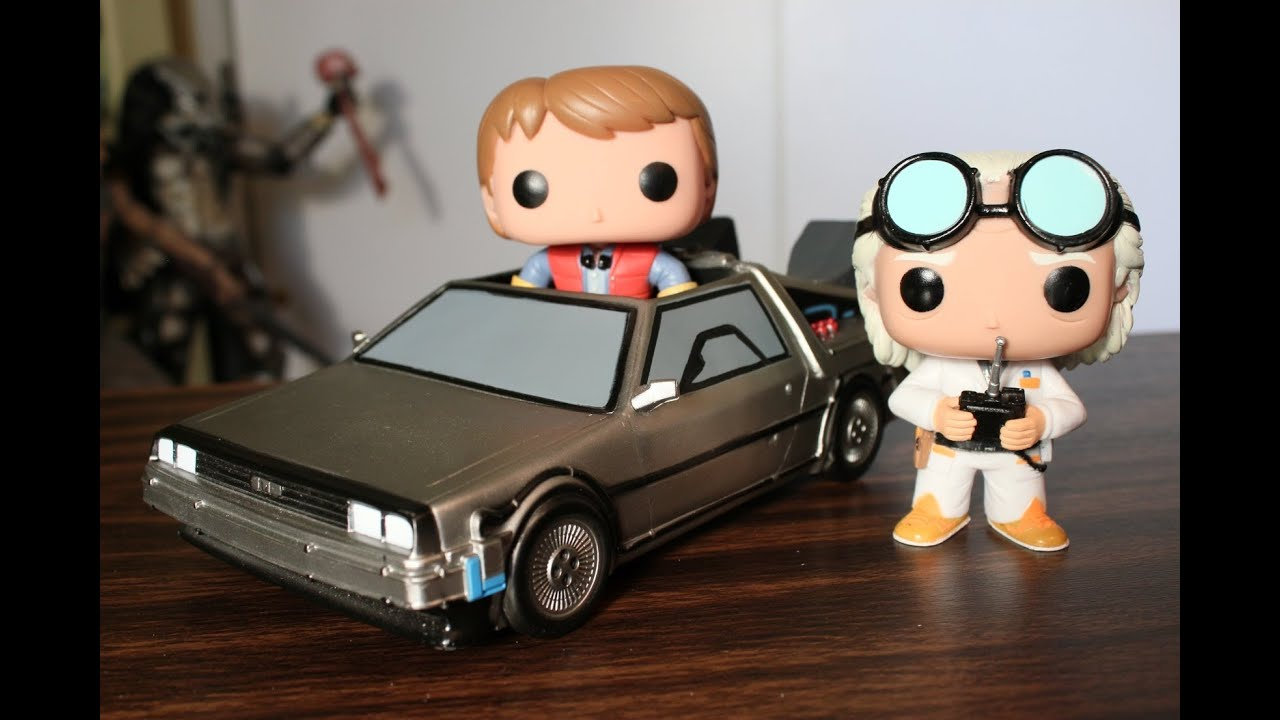 Back To The Future Funko Pop Time Machine Marty Mcfly