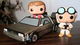 Back to the Future Funko Pop Time Machine, Marty McFly & Dr. Emmett Brown review
