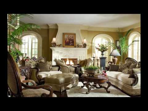 Nice Royal Looking Living Room Interior Design Ideas With