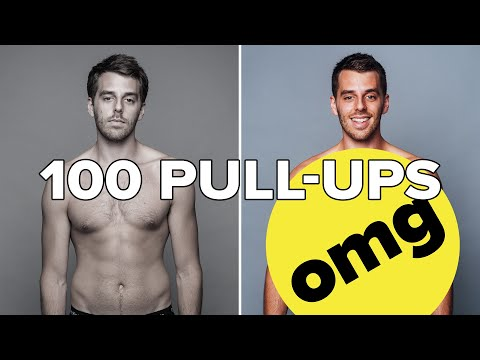 I Did 100 Pull-Ups Every Day For 30 Days