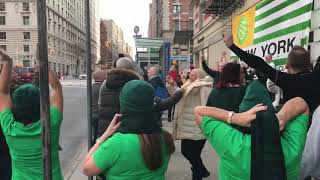CELTIC - BROADWAY comes to a standstill in New York after Celtic best Rangers